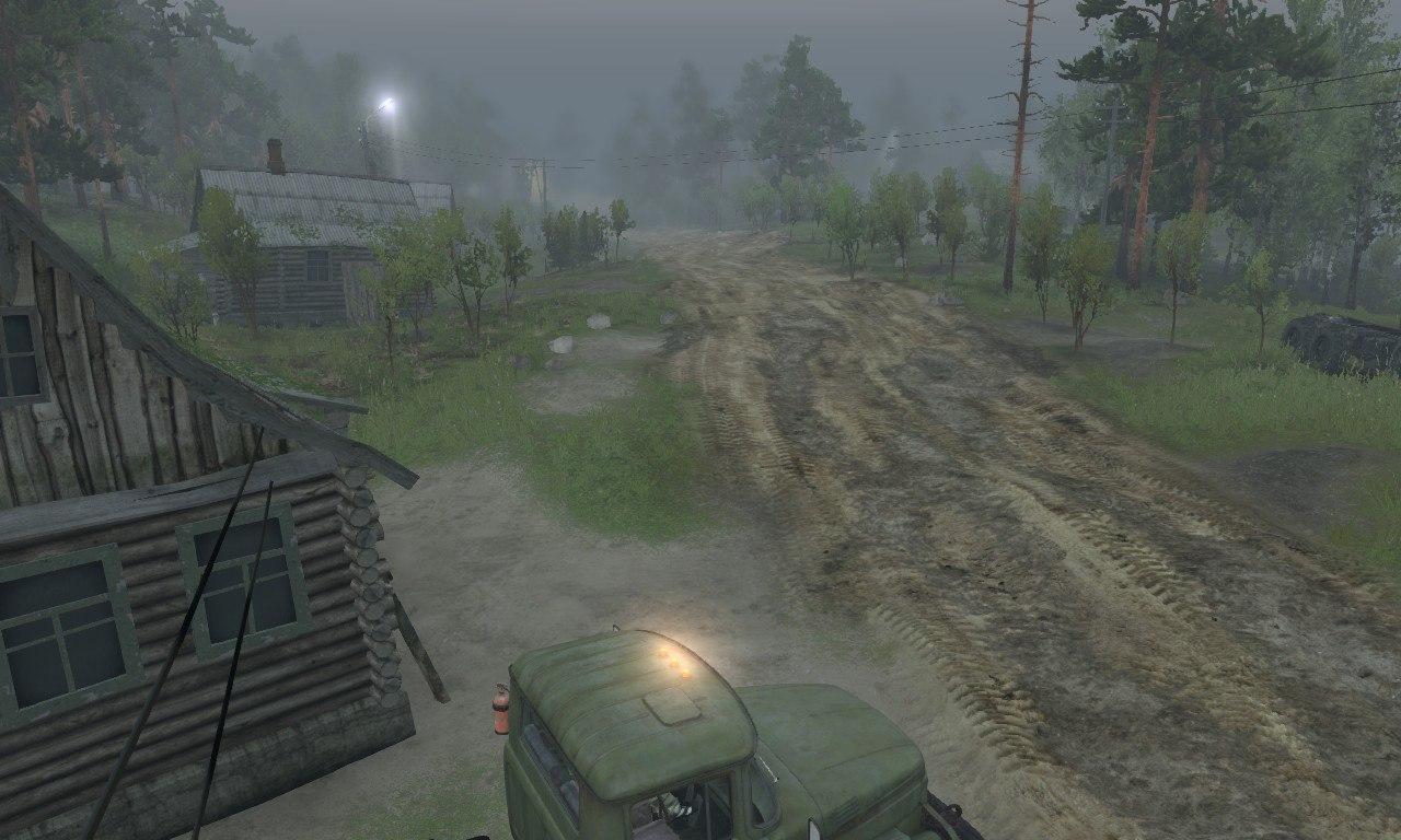 Карта «The Pond» для 03.03.16 для Spintires - Скриншот 1