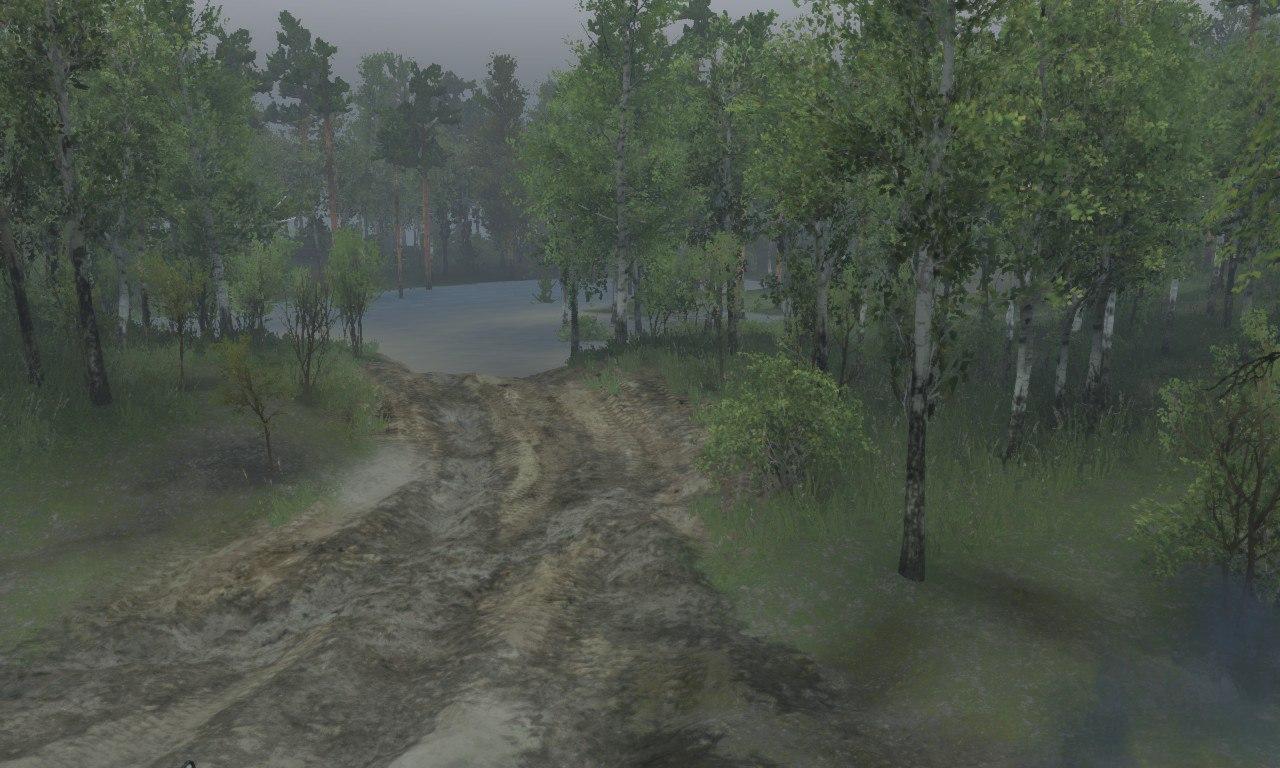 Карта «The Pond» для 03.03.16 для Spintires - Скриншот 2