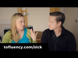 Learn English _ A Real Conversation About Getting Sick ? _ English Listening Practice (Subtitles)