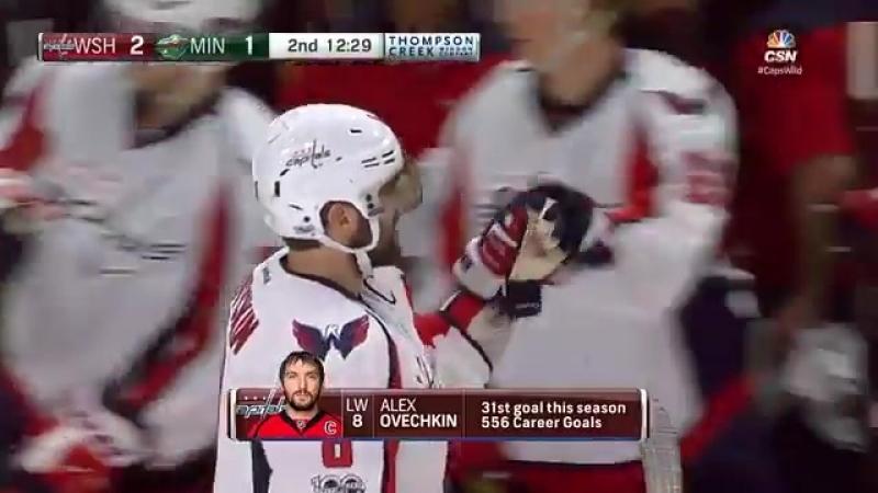 Ovechkin 31 goal | Овечкин - 31й гол | 16/17