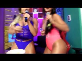 Aline Mineiro e Carol Dias GOSTOSAS - Live Do Pnico | Brazilian Girls