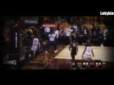 Kyrie Irving to LeBron OFF THE GLASS!