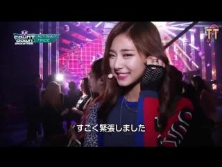 151106 TWICE во время съемок M!Countdown [русс.саб]