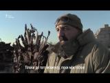 Железный трон с осколков разорванных снарядов и брони - копия трона из популярного сериала «Игра престолов»