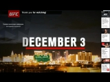 The Ultimate Fighter A Tournament of Champions Finale : Official Weigh-in (взвешивание)
