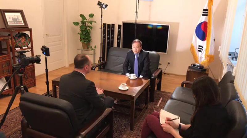 Інтервю з надзвичайним і повноважним Послом Республіки Корея в Україні паном Лі Янг-Гу