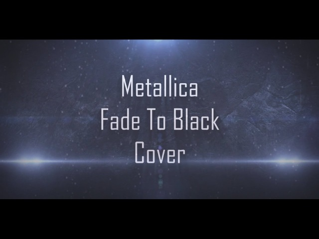 Metallica Fade to Black Guitar cover Backing tracks in E and D tuning