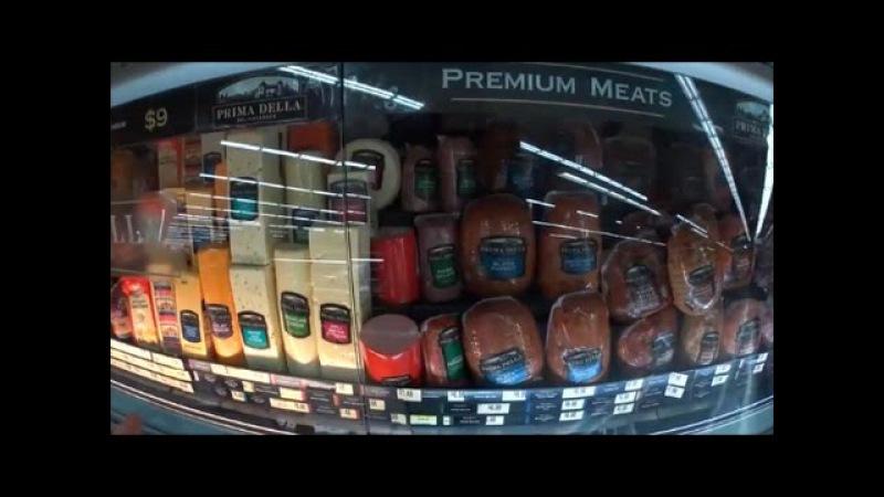 США Раннее Утро_Бродилка по супермаркету