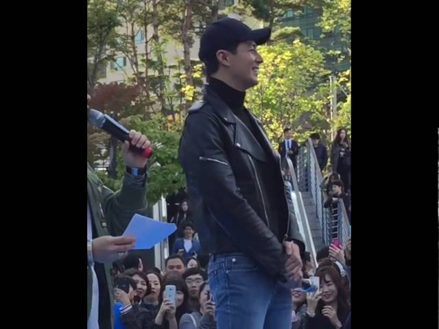 [09.10.2016] Jo In Sung - Hello Market Event in D-Cube City, Sindorim 2