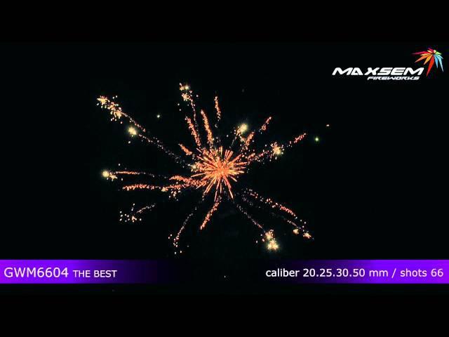 Maxsem Fireworks GWM6604 THE BEST