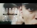 Multifandom | human emotions