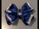 Laço facil e pratico de fazer Passo a Passo- satin ribbon bow