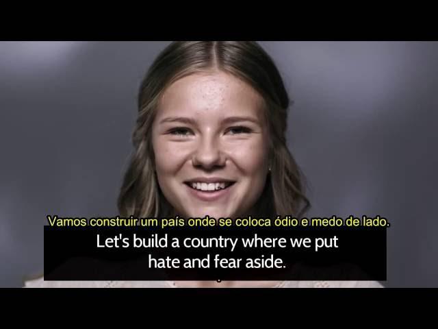 TV sueca promove genocídio e substituição dos suecos étnicos por refugiados e muçulmanos