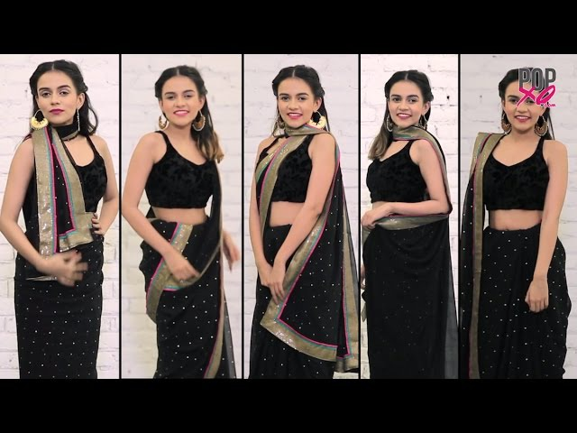 How To Drape Your Saree Pallu In Different Ways - POPxo