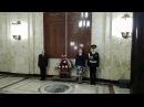 Церемония возложения цветов к памятным доскам в МИД России в преддверии Дня Поб ...