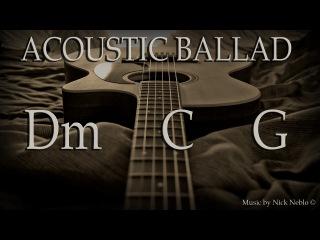 Acoustic Guitar Ballad Backing Track