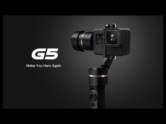 G5 the World's First Splash proof HERO5 Gimbal Feiyu Tech