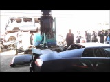 Lamborghini Murcielago Destroyed In Taiwan
