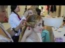 Прически вечерние на выпускной и свадебные на короткие и средние волосы. Локоны для принцессы.