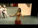 Анжелика - Восточный танец живота под барабаны