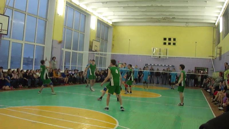 Волейбол 2шк vs 3шк