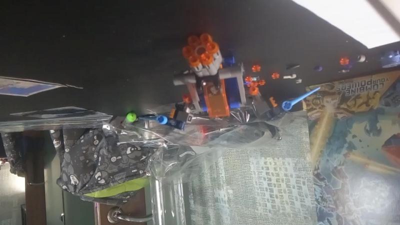 LEGO NEXO KNIGHTS Сокол истребитель Клея (смотрите вверх тормашками )