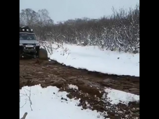 Настоящий off-road.