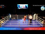 ЧР по боксу 2016, 49 кг, Сидоров Борис (Саха) - Гасанов Рашад (Тульская область)
