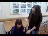 Подготовка к показу_визажист Настя и модель Диана