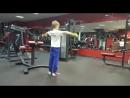 Тренировка юного спортсмена