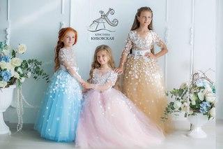 Кристина кибовская детские платья