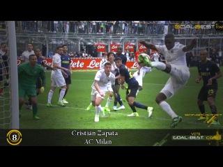 TOP Goals of the Week | April #3 16/17 - David Villa, Cristián Zapata, Radamel Falcao
