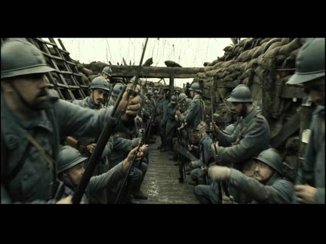 WW1 Going over the Top Part 9 Movie A Very Long Engagement French Attack at Somme