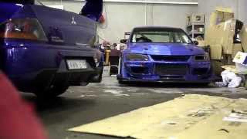 The IS Motor Racing Bayside Blue WTAC Evo