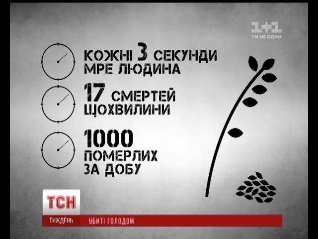 Голодомор в цифрах Україна вшанувала память жертв геноциду свого народу