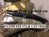 Making a Tomahawk from a broken wood axe basic tools