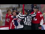 Corey Perry Incites Scrum After Late Hit   USA vs Canada   World Cup of Hockey 2016