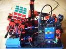 Autonomous Rubik's Cube Solver made of 100% Fischertechnik