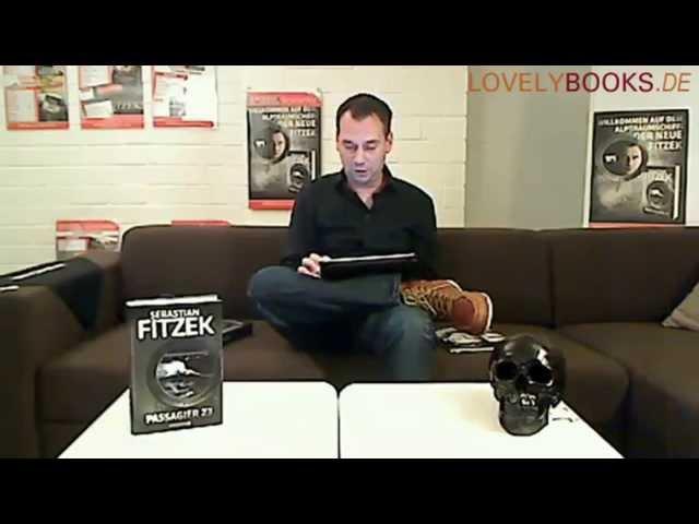 Sebastian Fitzek liest aus 'Passagier 23' - Lesung von LovelyBooks.de