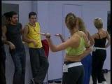 Фабрика звёзд 1   А  Асташенок на репетиции танца девочек