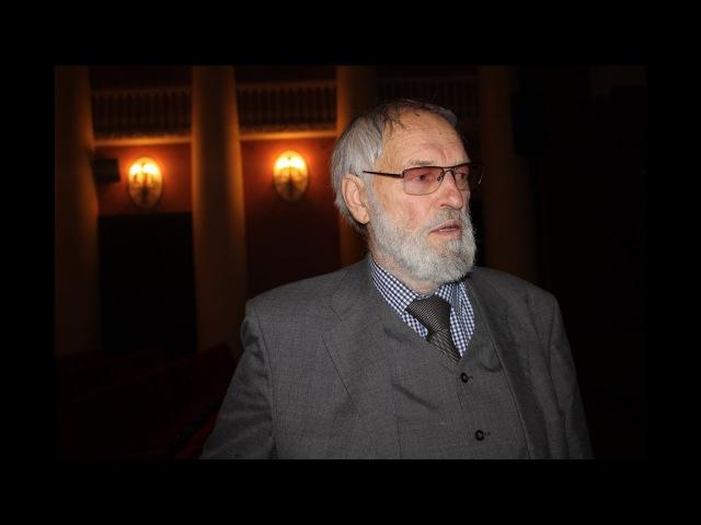Регимантас Адомайтис после петербургской премьеры фильма «Чувства» Алмантаса Грикевичюса