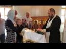 Клип с крещения Артёма - церковь Бориса и Глеба в Зюзино