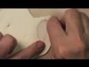 Как сделать туфли для куклы  МК от Дианы Эффнер.  Ч. 1. Основа туфель_low