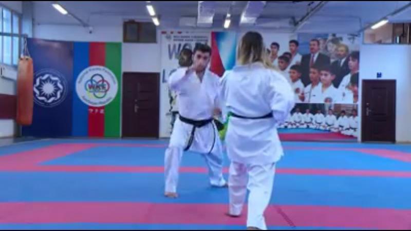 10 yaşından bəri karate ilə məşğul olan Qızıl Medalçı Şahin Atamov yarışlara belə hazırlaşır