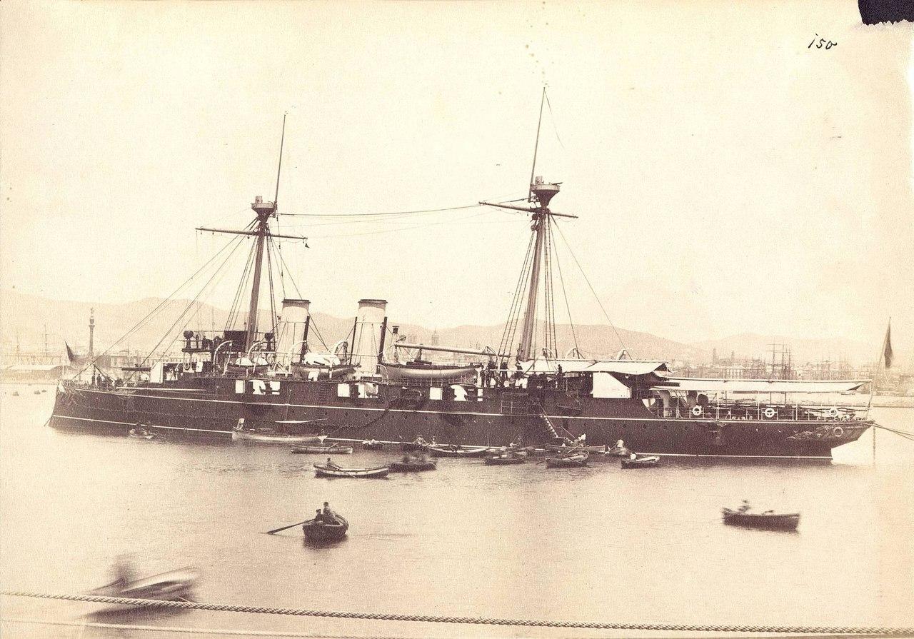 Бронепалубный крейсер Рейна Рехенте