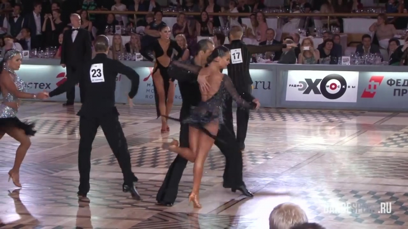 Roman Kovgan - Daria Palei, RUS, Final Samba