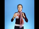 8 простых, но необычных способов завязать шарф.