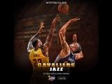 НБА. Клив-Юта.16.03.2017