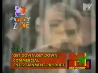Emergency Broadcast Network - Get Down, Get Down (MTV PARTY ZONE 1992)