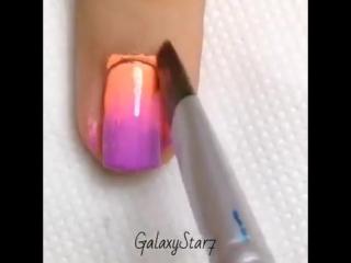 Видео урок дизайна ногтей -- Video tutorial of the nail design